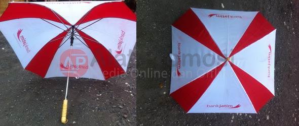 Payung Standar Model Kotak pesanan Bank Jatim