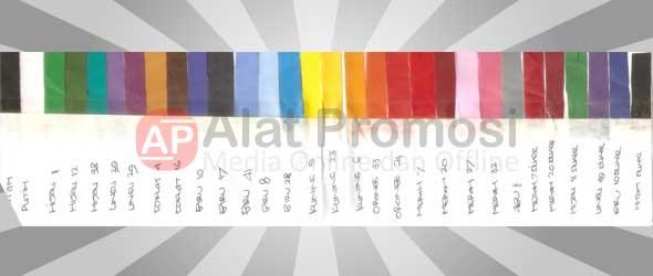 Pilihan warna dasar payung
