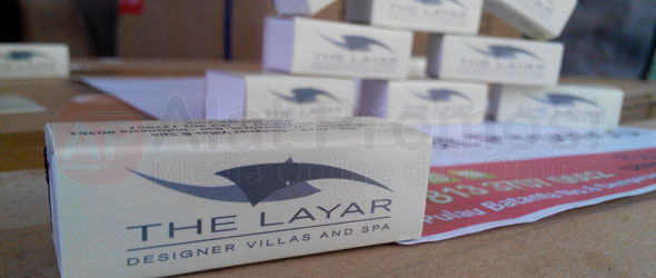 Korek api kayu untuk promosi model segi empat pesanan villa the Layar SEMINYAK BALI