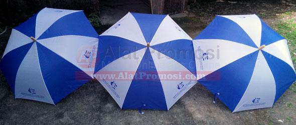 Payung semi golf pesanan Dewata Bali Elektrik Denpasar Bali