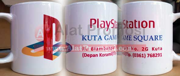 MUG promosi Playstation Kuta Game Square Bali